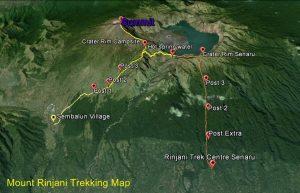 Rute Gunung Rinjani
