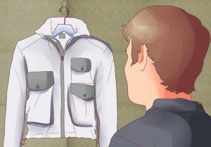 Proses pengeringan jaket