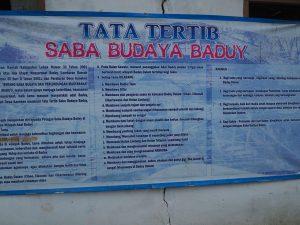 Tata Tertib Baduy