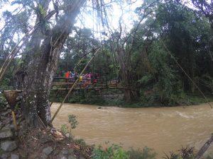 jembatan bambu baduy