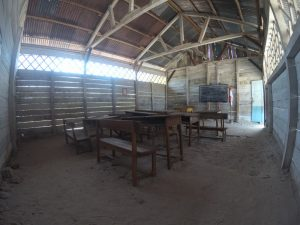 Dalam Sekolah replika laskar pelangi