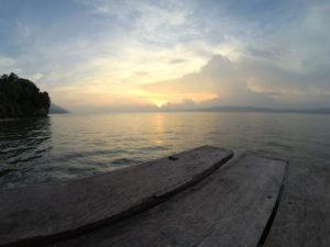 Senja di Pulau Mansuar