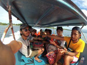 Longboat ke Pulau Baer