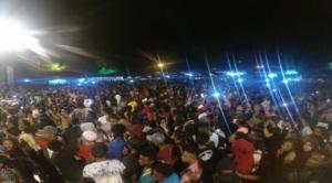Penutupan Festival Danau Sentani yang sangat meriah