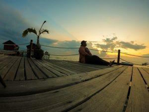 Senja di Derawan